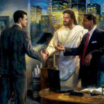 Jesus and business men